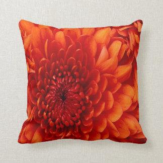 Beautiful Chrysanthemun MoJo Throw Pillow