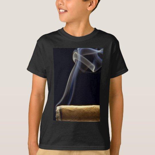 Beautiful Cigar with smoke T-Shirt
