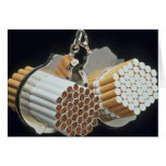 Beautiful Cigarettes and handcuffs Card