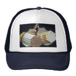 Beautiful Cigarettes and handcuffs Mesh Hat