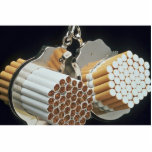 Beautiful Cigarettes and handcuffs Photo Cut Outs