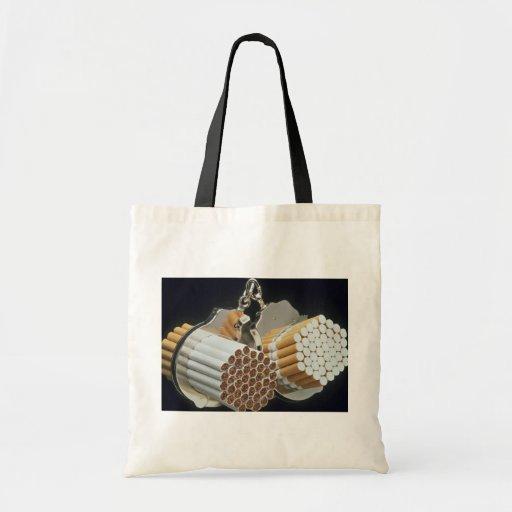 Beautiful Cigarettes and handcuffs Tote Bag
