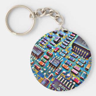 Beautiful Circuitry Keychain