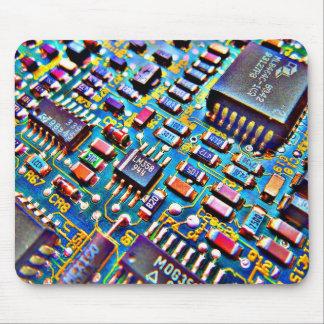 Beautiful Circuitry Mouse Pad