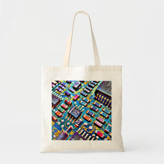 Beautiful Circuitry Tote Bag