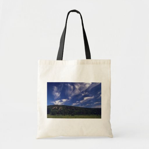 Beautiful Cirrus Budget Tote Bag