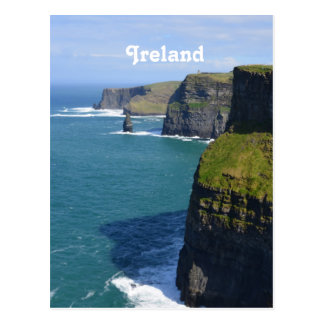 Beautiful Cliffs of Moher Postcard