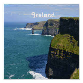 Beautiful Cliffs of Moher Print