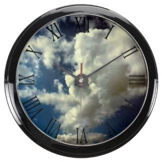Beautiful Cloud Nature Sky Photo Aqua Clocks