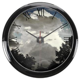 Beautiful Cloud Nature Sky Photo Aquarium Clocks