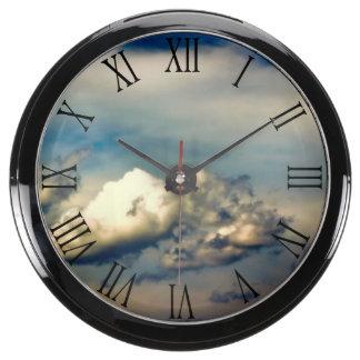 Beautiful Cloud Nature Sky Photo Aquavista Clocks