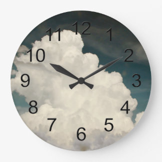 Beautiful Cloud Nature Sky Photo Clock
