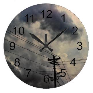 Beautiful Cloud Nature Sky Photo Clocks