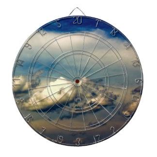 Beautiful Cloud Nature Sky Photo Dartboard