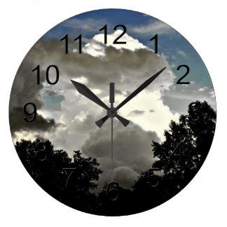 Beautiful Cloud Photo Wall Clock