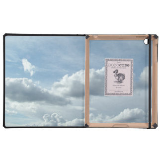 Beautiful clouds and sky.  Landscape photography. iPad Cover