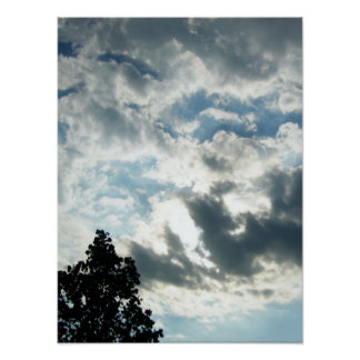Beautiful Clouds Poster