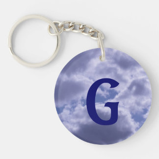 Beautiful Cloudy Day Keychain