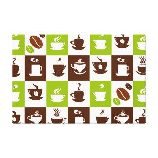 Beautiful Coffee Espresso Cappucino Kitchen Drink Canvas Print