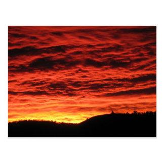 Beautiful Colorado Sunrise Postcard