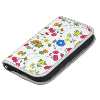 Beautiful Colored Floral pattern Folio Planners