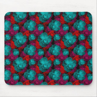 Beautiful Colored Roses Mouse Pad