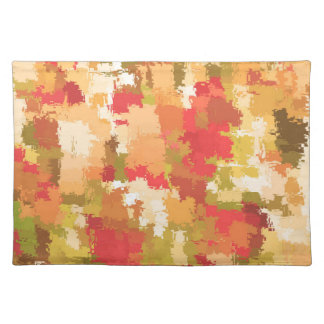 Beautiful Colorful Abstract Pattern Cloth Placemat