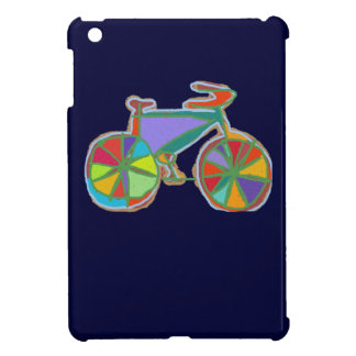beautiful colorful art bike iPad mini covers