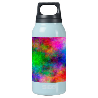 beautiful Colorful  Art Cloth effects Insulated Water Bottle