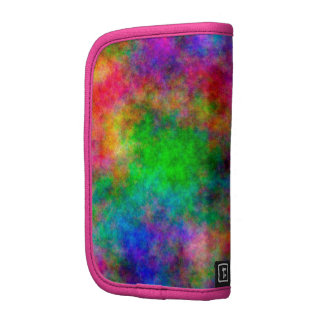 beautiful Colorful  Art Cloth effects Folio Planners
