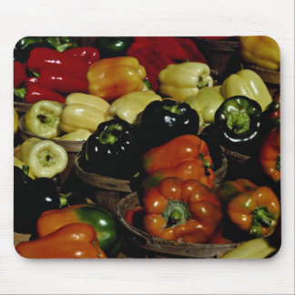 Beautiful Colorful bell peppers Mouse Pad