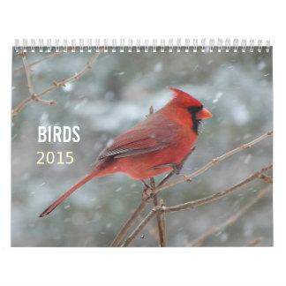 Beautiful Colorful Bright Birds Nature 2015 Calendar