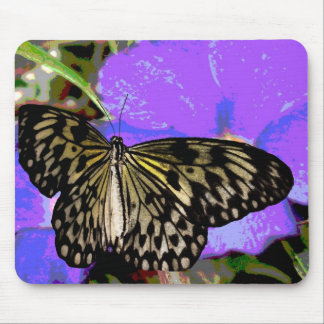 Beautiful  Colorful Butterfly Clothing and Gifts Mouse Pad
