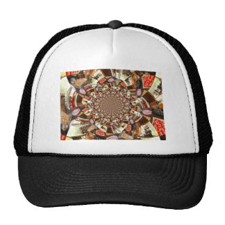 Beautiful Colorful Cakes and Desserts Trucker Hat