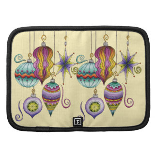 Beautiful Colorful Christmas Ornaments Hanging Planners