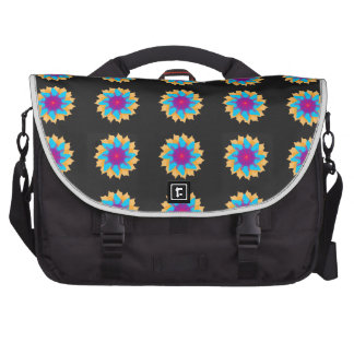 Beautiful Colorful Flower Commuter Bag