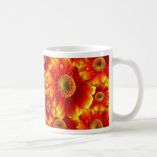 Beautiful colorful gerberas coffee mug