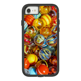 beautiful colorful glass marble balls photograph Case-Mate tough extreme iPhone 7 case