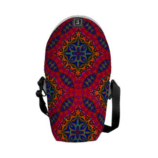 Beautiful colorful Kaleidoscope Messenger Bag