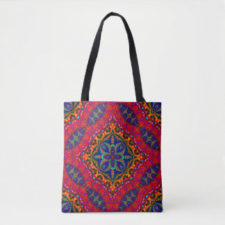 Beautiful colorful Kaleidoscope Tote Bag