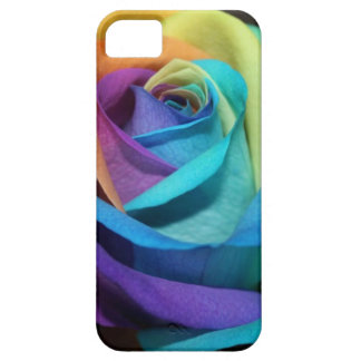 Beautiful colorful rose iPhone 5 case