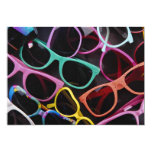 Beautiful Colorful sunglasses 5x7 Paper Invitation Card