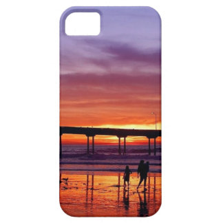 Beautiful colorful sunset iPhone SE/5/5s case