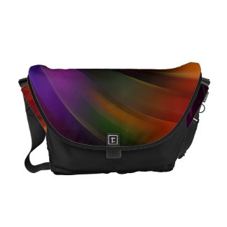 Beautiful colorful Swirl Pattern Courier Bag