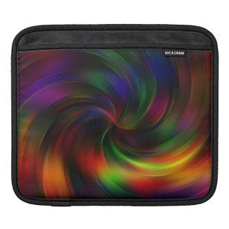 Beautiful colorful Swirl Pattern iPad Sleeve