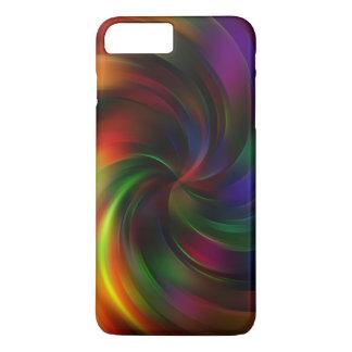 Beautiful colorful Swirl Pattern iPhone 7 Plus Case