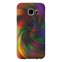 Beautiful colorful Swirl Pattern Samsung Galaxy S6 Case