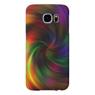 Beautiful colorful Swirl Pattern Samsung Galaxy S6 Case