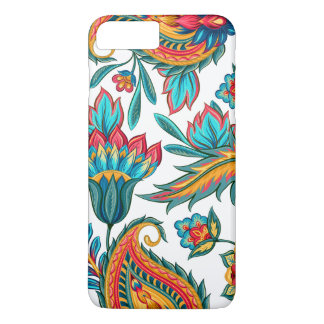 Beautiful Colorful Watercolors Ethnic Paisley iPhone 7 Plus Case