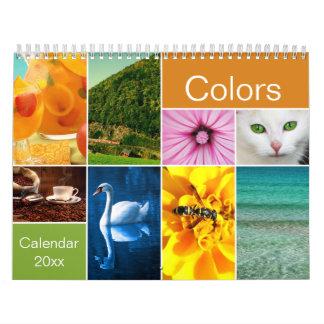 Beautiful Colors Calendar